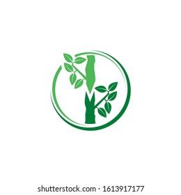 Plant Grafting Logo Vector Icon Illustration