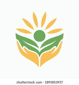 plant growth with hand drawn vector illustration template