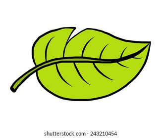 Cartoon Leaves Images Stock Photos Amp Vectors Shutterstock