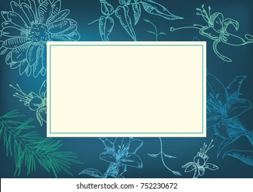 plants, flowers eCard