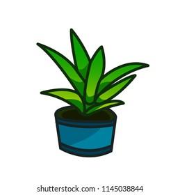Plants Illustration Icon