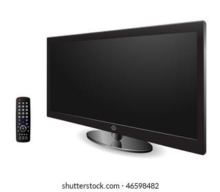 plasma tv with remote