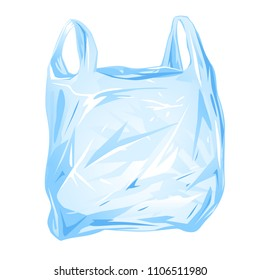 Plastic Bag Isolated
