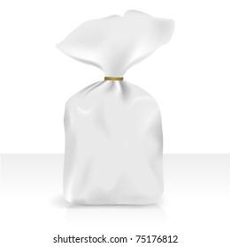 Plastic bag, vector for new design