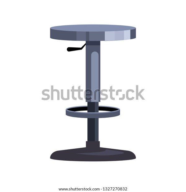 Fabulous Plastic Bar Chair Flat Icon Adjustable Stock Vector Royalty Gmtry Best Dining Table And Chair Ideas Images Gmtryco