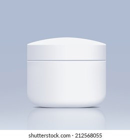 plastic jar for cosmetics