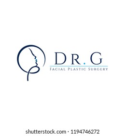 Plastic surgeon vector logo
