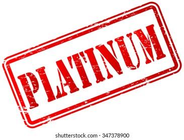 Platinum Stamp Badge