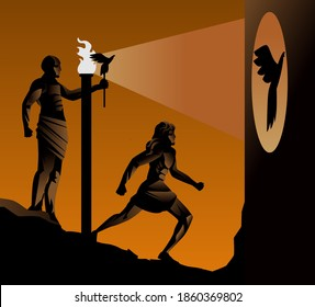 plato philosophy allegory of the cave