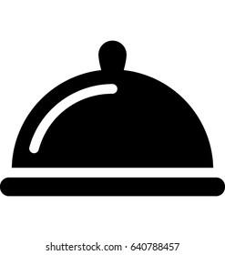 Platter Vector Icon