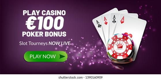 Play casino €100 poker bonus.