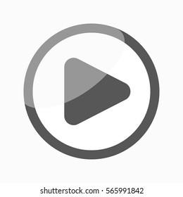 Play Icon / Button Web button.