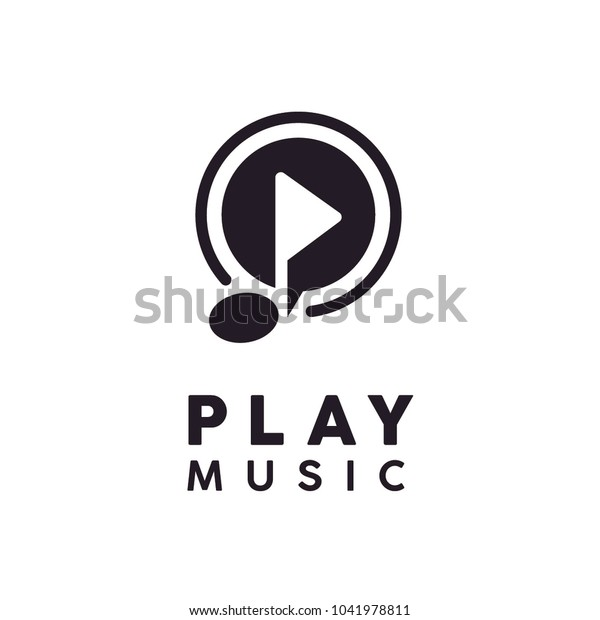 Play Music / Video icon or logo design inspiration