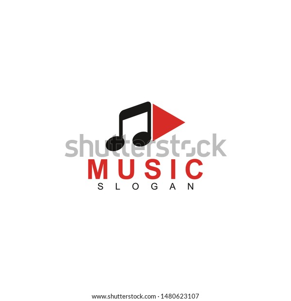 Play Music Video Media Player App Stock Vector (Royalty Free