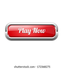 Play Now Rounded Rectangular Button