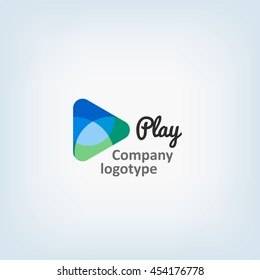 Play. Playmedia Symbol. Logo Icon Design Template Elements. Concept For Your Logo. Vector Illustration