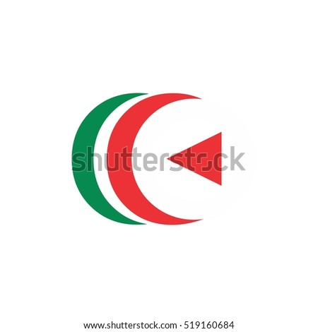 Play Two C Logo Stock Vector Royalty Free 519160684 Shutterstock