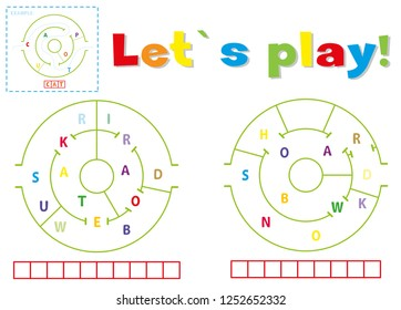 Play and write the words skateboard and snowboard. Find a way out of the maze and make words out of letters