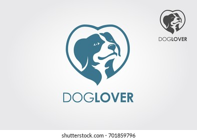 Playful logo that best for dog shop, dog lover community, animal shelter, dog kennel.
