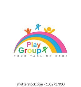 playgroup logo design