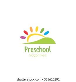 preschool logo images stock photos vectors shutterstock rh shutterstock com preschool logo game preschool logos free