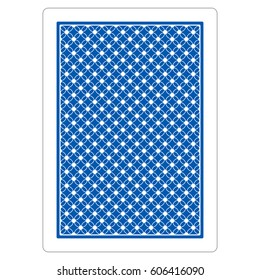 Playing Card Blue Back