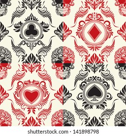Playing Card Pattern Set