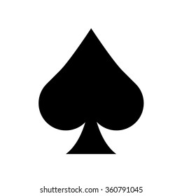 spade card sign  Spades Images, Stock Photos & Vectors | Shutterstock