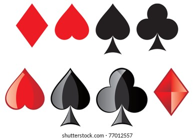Playing Cards, card suit