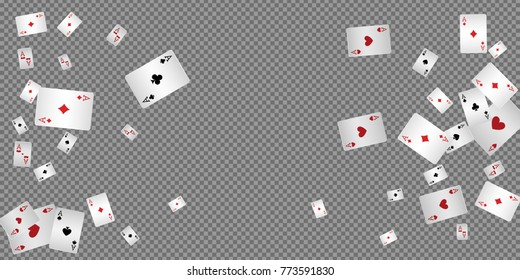 Playing Cards Falling Images Stock Photos Vectors