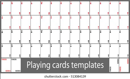 Play Card Template Hd Stock Images Shutterstock