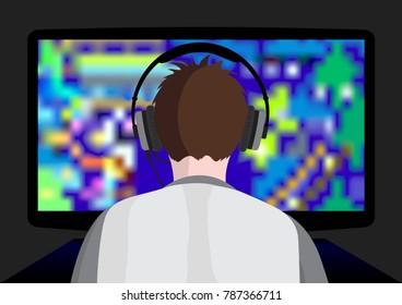 Playing computer game