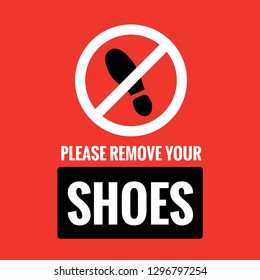 picture relating to Please Remove Your Shoes Sign Printable Free referred to as Make sure you Eliminate Your Sneakers Illustrations or photos, Inventory Pictures Vectors