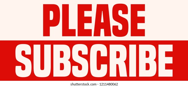 please subscribe images stock photos vectors shutterstock https www shutterstock com image vector please subscribe red white sign 1211480062