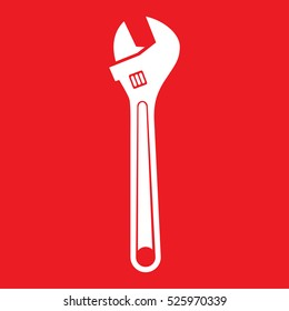pliers pipe wrench Icon Vector Illustration
