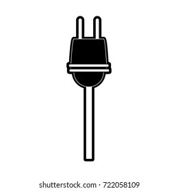 plug with cord icon image