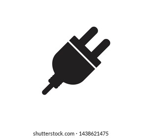 Plug icon ,electric plug icon vector flat style