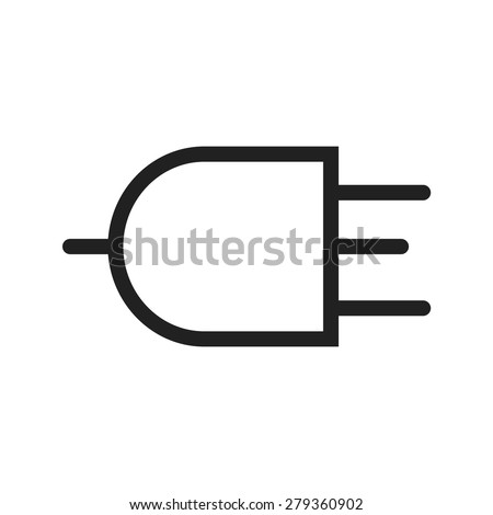 Plug Wire Three Pin Socket Icon Stock Vector (Royalty Free ...  Pin Plug Wires on 3 pin resistor, 5 pin plug, 6 pin plug, 3 pin usb, 3 pin light, 3 pin lock, 3 pin extension, 3 pin adapter, 3 pin switch, 3 pin fan, 3 pin cable, 3 pin wire, 7 pin plug, 4 pin plug, 2 pin plug, 3 pin socket, 8 pin plug, 3 pin link, 3 pin fuse, 3 pin transistor,