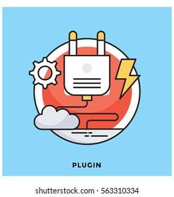 Plugin Vector Icon