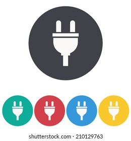plugs icon,vector illustration