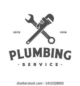 plumbing logo ,icon and illustration