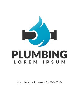 3033961d2 Plumbing logo. Plumbing icon. Plumbing service. Elements for brand  Identity. Business card