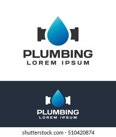 5ac9284d6 Plumbing logo. Plumbing icon. Plumbing logo template. Plumbing service.
