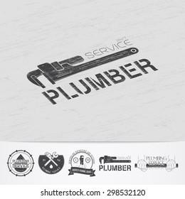 Plumber Logo Images, Stock Photos & Vectors | Shutterstock
