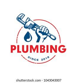 Plumbing Service Logo Template