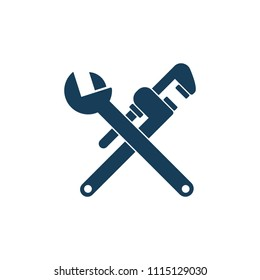 Plumbing vector tools. Plumbing clipart isolated on white background
