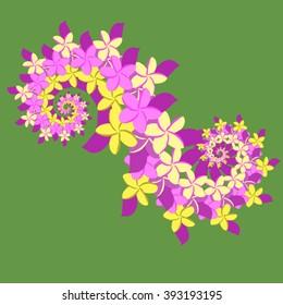Plumeria Double Spiral - Violet