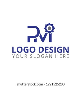pm logo design professional logo