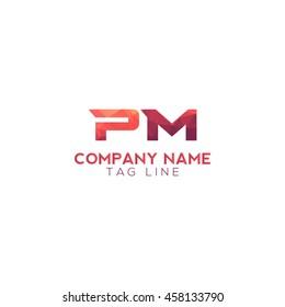 pm polygonal logo