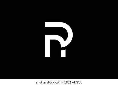 PN letter logo design on luxury background. NP monogram initials letter logo concept. PN icon design. NP elegant and Professional white color letter icon design on black background.